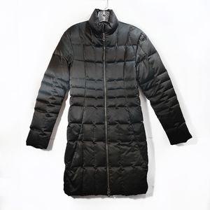 Searle Black Down Filled Puffer Jacket Long Sleeve